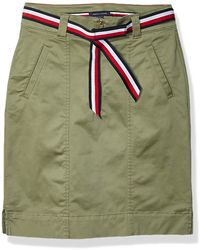 Tommy Hilfiger Adaptive Skirt With Velcro Brand Closure - Multicolor