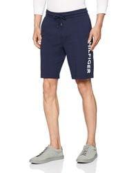 Tommy Hilfiger Short Pantalones de Pijama - Azul