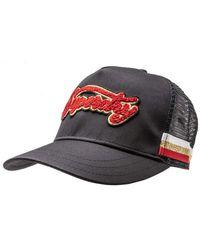 Superdry S Varsity Triple Baseball Cap Black One Size