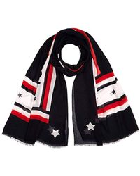 Tommy Hilfiger - Corporate Print Scarf, Blue 901, One (size: Os) - Lyst