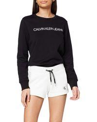 Calvin Klein CK Embroidery Regular Short - Blanco