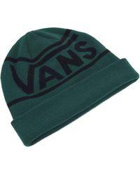 Vans Bonnet Drop V Stripe Cuff Vert OSFA