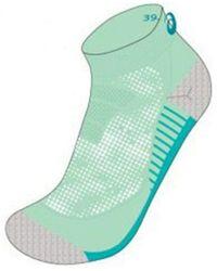 Asics _adult 2ppk Lightweight Sock - Green