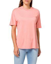 Scotch & Soda - T-Shirt mit Rundhalsausschnitt aus -Mischung - Lyst