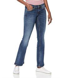 Tommy Hilfiger Low Rise Bootcut Sophie Vmblst Jeans - Blue