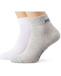 Levi's Levis Mid Cut Sprt 2p Socken (2er Pack) - Grau