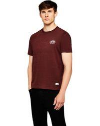 HIKARO Camiseta ga Corta Hombre - Morado