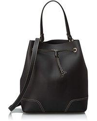 Furla Stacy M Drawstring - Borsa Donna - Nero