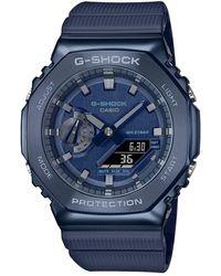 G-Shock Orologio unisex multifunzione GM-2100N-2AER - Blu
