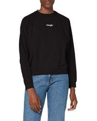 Wrangler Retro Raglan Jeans - Black