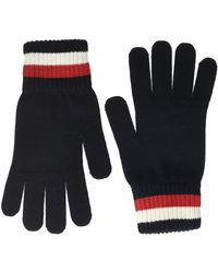 Tommy Hilfiger Icon Merino Knit Gloves Guantes, - Azul