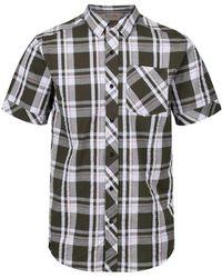 Regatta Deakin III Camisa ga Corta - Negro