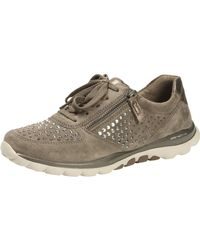 Gabor - Fantastic s Casual Sports Trainers Wallaby Suede 37 - Lyst