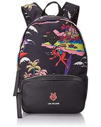 Love Moschino - Surfing Octopus Print Backpack - Lyst