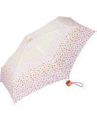 Esprit Petito Ditsy Florals Parapluie de Poche Multicolore Orange. 91 cm