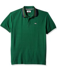 Tommy Hilfiger Tommy Jeans Polo Shirt Classics Collection - Blue
