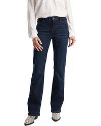 Esprit - Basic-Jeans aus Dark Denim - Lyst