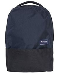 """Kenneth Cole Reaction Two-tone Polyester 15.6"""" (rfid) Laptop Backpack - Blue"""