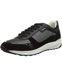 Geox D AIRELL C Sneaker Schwarz