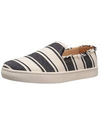 Soludos Striped Slip-On Sneaker Ie50GT