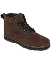 Quiksilver Suede Lace-up Winter Boots - - Eu 39 - Brown