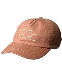 Billabong Surf Club Hat Baseball Cap - Brown