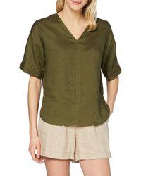FIND T-Shirt Scollo a V Lunga Donna - Verde
