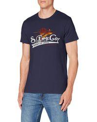 Superdry Spirit of Japan Tee T-Shirt - Bleu