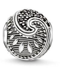 Thomas Sabo Bead Maori Argent Sterling 925, Noirci K0214-643-11 - Métallisé