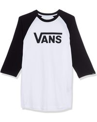 Vans Herren Classic Raglan T-shirt - Black