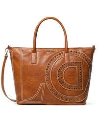 Desigual Bols_love Holbox Handbag - Brown