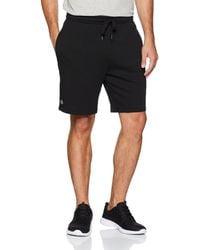 Lacoste Sport GH2136 Pantalones Cortos - Negro