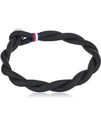 Tommy Hilfiger Jewelry Nylon Bracelet - Black