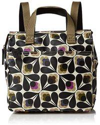 Orla Kiely - Matt Laminated Linear Stem Print Backpack Tote - Lyst