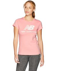 New Balance Damen Essentials - Pink