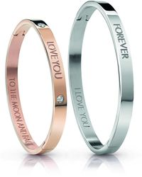 Guess UBS84401 Lovers Bangle Bracelets jonc tendance pour femme - Multicolore