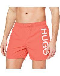 HUGO Abas Swim Trunks - Green