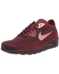 sports shoes 219c0 19f5d Air Max 90 Ultra 2.0 Flyknit Trainers - Red