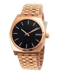 Nixon TIME TELLER Herr uhren A0452598 - Pink