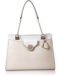 Guess Belle Isle Society Carryall Stone Multi - Multicolore