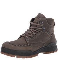 Ecco Track 25 High Hiking Boot - Brown