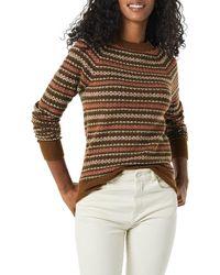 Amazon Essentials Suéter con Cuello Redondo - Multicolor