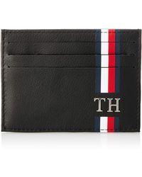 Tommy Hilfiger Th Corporate CC Holder - Noir