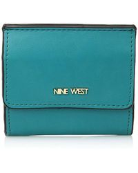 Nine West - Flap Card And Coin Case - Lyst