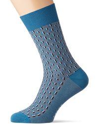 Falke Strap Boundary Calze - Blu