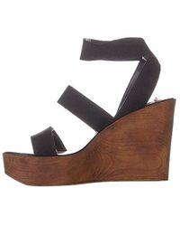 Steve Madden S Blondy Open Toe Casual Platform Sandals - Black