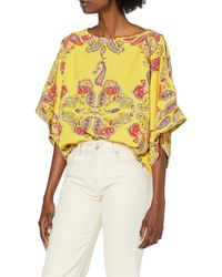Dorothy Perkins Yellow Placement Paisley Print Blouse