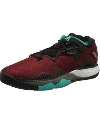 adidas Crazylight Boost Lo - Rouge