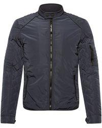 Replay M8141p Biker Jacket - Blue