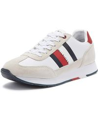 Tommy Hilfiger - Corporate Leather Flag Runner - Lyst
